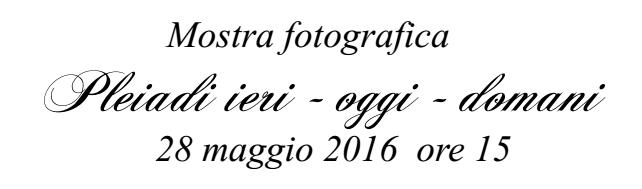 Mostra fotografica 28 maggio 2016 ore 15