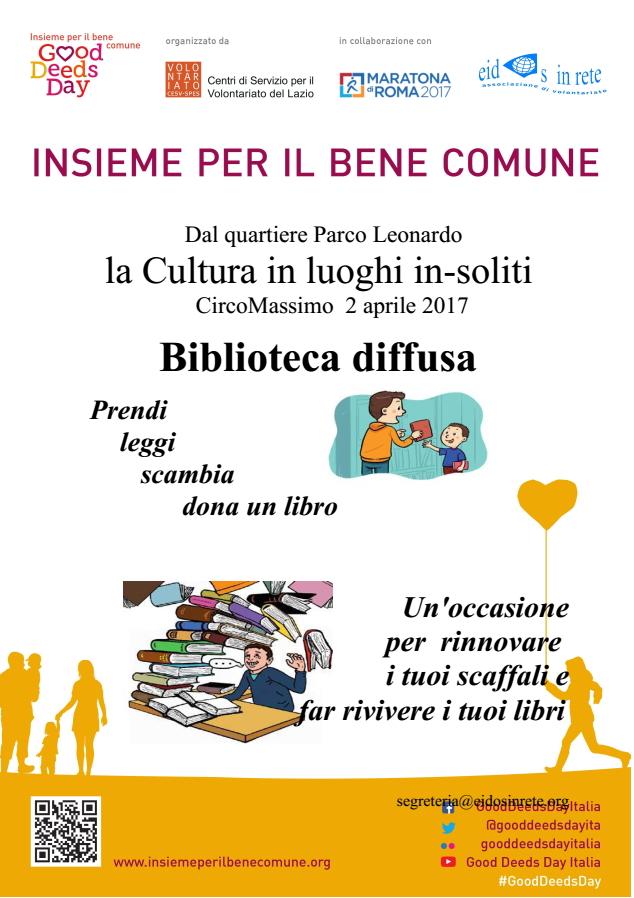 Circo Massimo – 2 Aprile 2017 – Good Deeds Day 2017