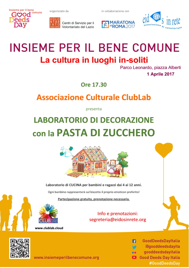 Laboratori – Good Deeds Day 2017