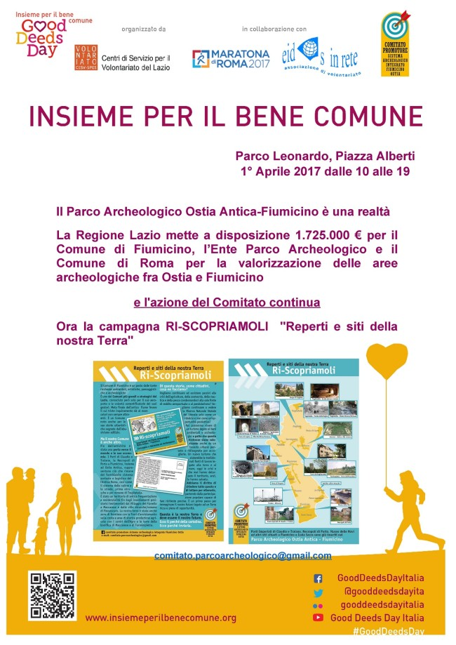 Incontri – Good Deeds Day 2017